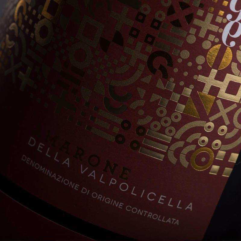 A special label for a unique Amarone