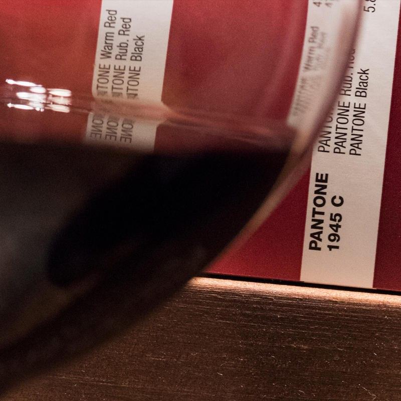 Die Farbe des Weins